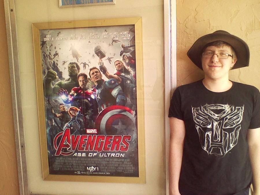 Writer Matthew Demchak by an Avengers: Age of Ultron Poster