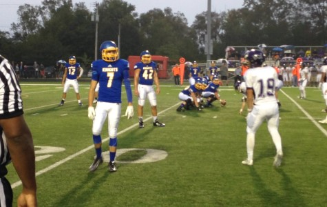 East Noble Football Falls Short in Homecoming Game