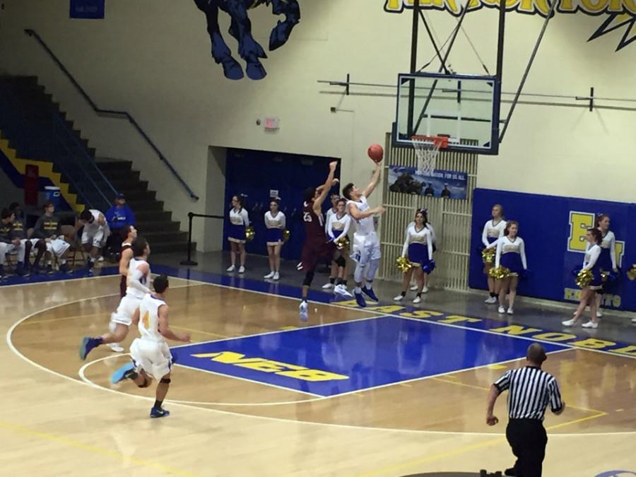 East Noble Boys' Basketball Wins Tough Game Against Mishawaka
