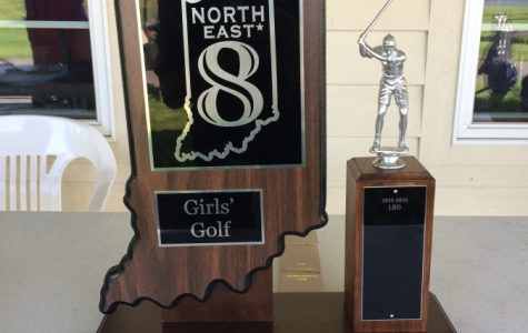 EN Girls Golf Gets 6th at NE8 Tournament