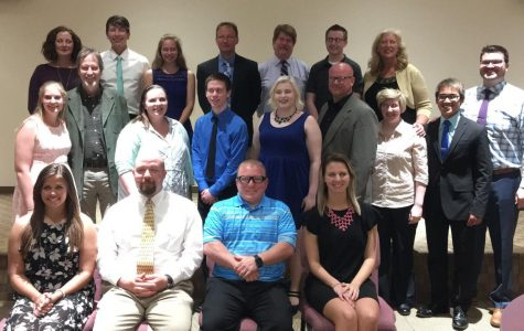 Top Ten Seniors Recognized at Roots and Wings Dinner