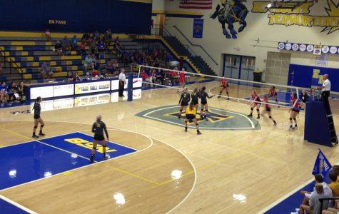 East Noble Defeats Northside Varsity Volleyball