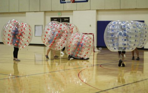 Homecoming Week: Tropical Tuesday and 'Wubble Bubble' Soccer