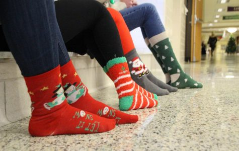 Snowcoming Week Day 1: Holiday Socks