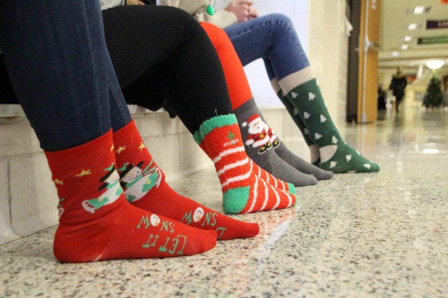 Snowcoming Week Day 1: Holiday Socks