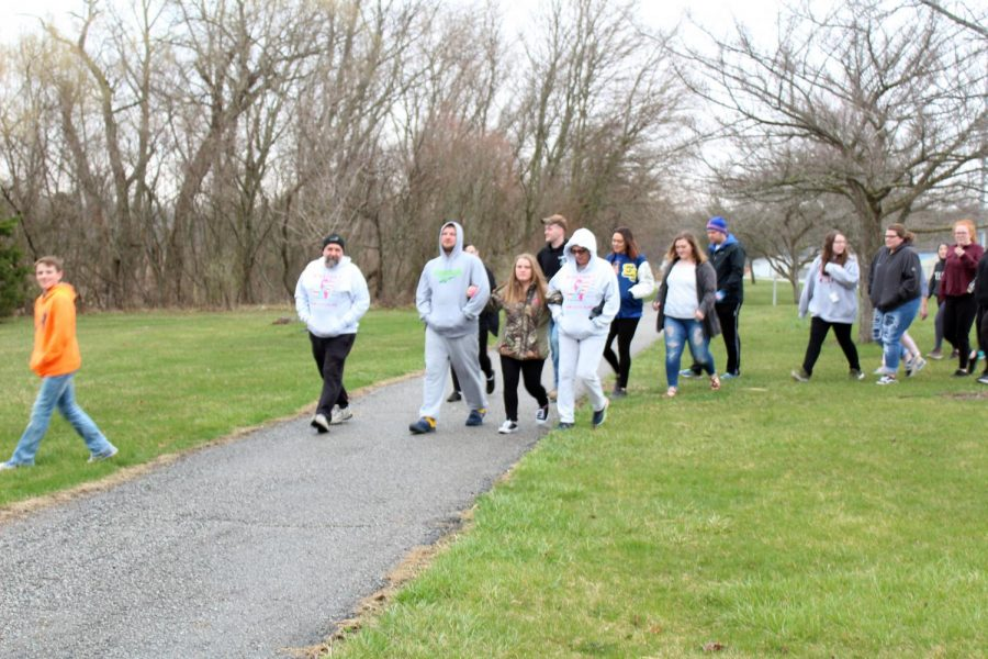 """2nd Annual """"Hope Walk"""" Occurs at ENHS"""