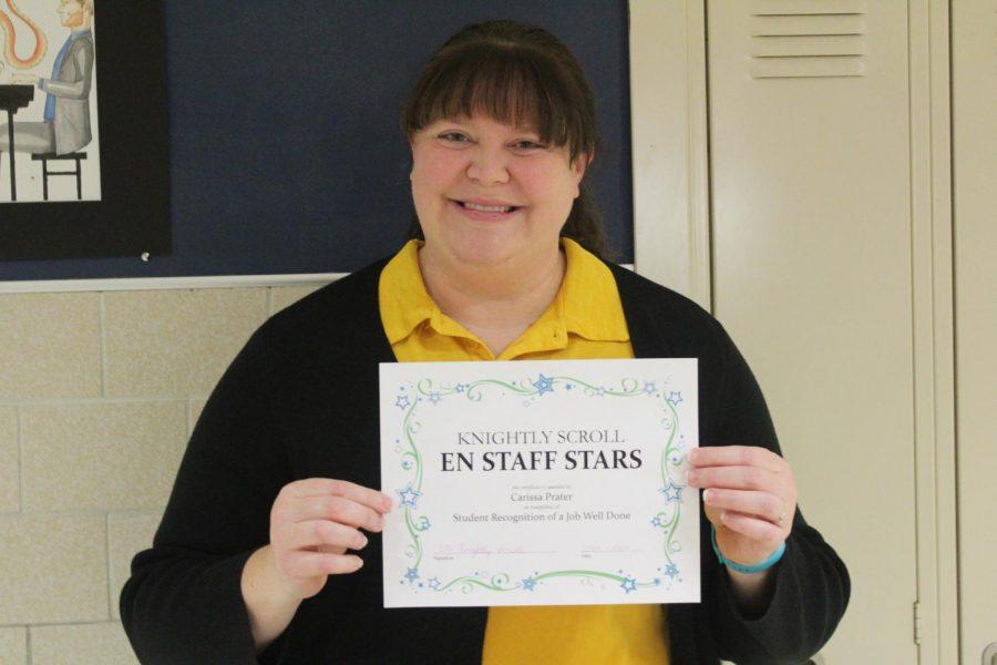 EN Staff Stars: Mrs. Carissa Prater