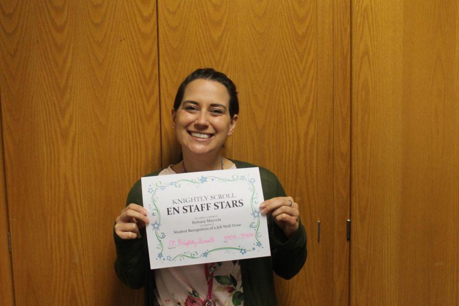 EN Staff Stars: Ms. Brittany Mazzola